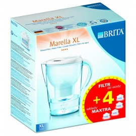 Dzbanek filtrujący BRITA Marella XL + 4 wkłady Maxtra